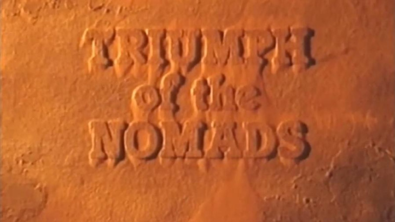 Triumph of the Nomads - A History of Australia's Aboriginal People