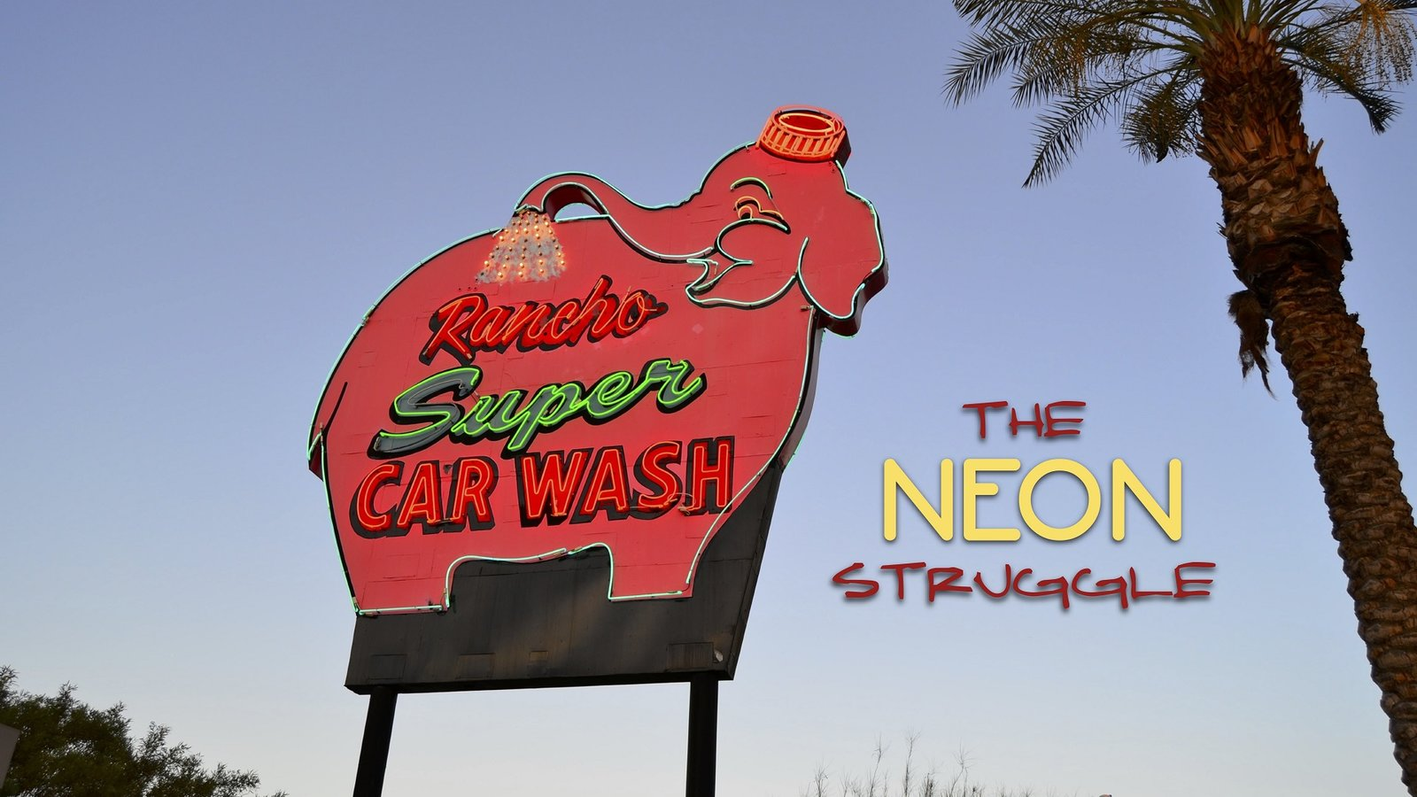 The Neon Struggle - The Gradual Extinction of the Neon Sign